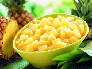 ananas-cubes